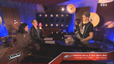 The Voice 4 - EXCLUSIVITE : Garou coache Robinne Berry et Max Blues Bird (VIDEO)