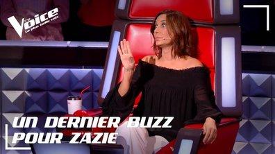 Alerte buzz : Zazie est la dernière à pouvoir sauver un talent