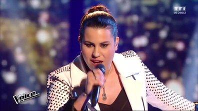 Anahy chante en direct « Vivre ou survivre » (Daniel Balavoine) pour la demi-finale (Saison 05)