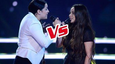 Anahy VS Akasha,  duel féminin sur « Puisque tu pars » (JJ Goldman) (Saison 05)