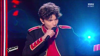 Antoine interprète en direct « Sympathy For The Devil » (Rolling Stones) (Saison 05)