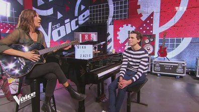 Les Auditions finales des coachs : Zazie et Mika s'attaquent aux Beatles