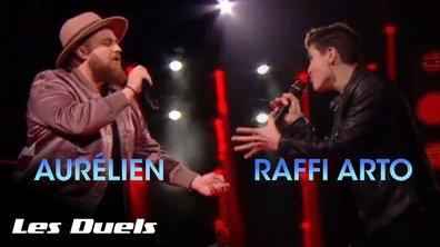 Aurélien vs Raffi Arto | Toute la musique que j'aime | Johnny Hallyday