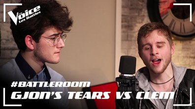 #BATTLEROOM – Gjon's Tears VS Clem Chouteau – « Sang pour Sang » (Johnny Hallyday)