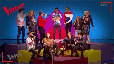 """BigFlo & Oli : """"Dommage"""" en live sur la scène de """"The Voice"""""""