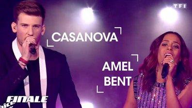 Casanova et Amel Bent | Que je t'aime | Johnny Hallyday
