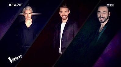 Le choix du coach : Petit Green, B. Demi-Mondaine et Gabriel laurent (Equipe Zazie)