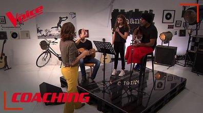 """Coaching : Zazie n'a rien à dire à part que la prestation de Maëlle et Gulaan va être """"magnifique"""""""