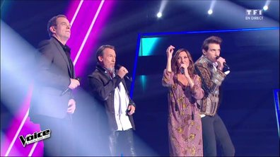 En direct, Zazie, Garou, Mika et Florent Pagny reprennent « Sweet Dreams (Are Made Of This)- (Eurythmics) (Saison 05)