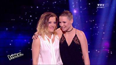 Anne Sila & Camille Lellouche - Destin (Céline Dion) (saison 04)