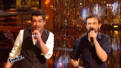 En duo, Sol et Clément Verzi chantent en direct « Vieille Canaille » pour la demi-finale (Saison 05)