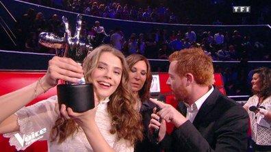 """Maëlle, gagnante de The Voice : """"Je n'arrive pas à y croire"""""""