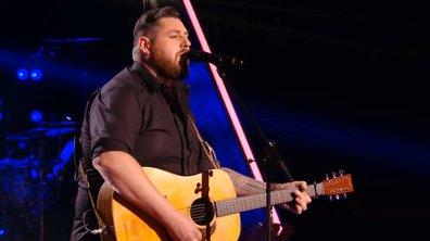 Fabien interprète un titre country « Colder Weather » (Zac Brown Band) (Saison 05)