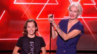 Le fils de B. Demi-Mondaine monte sur scène et choisit le coach de sa maman