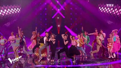 GREASE : Medley sur la scène de The voice