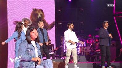 """The Voice Kids 2020 - Finale - Les talents, les coachs et Julien Doré chantent """"La fièvre"""""""