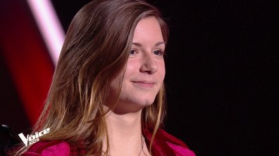 The Voice Kids – Aëlwenn chante « Too good at goodbyes » de Sam Smith