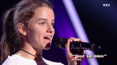 The Voice Kids - Alaïs s'approprie « Tout va bien » d'Orelsan