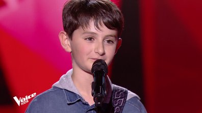 The Voice Kids - Antoine chante « Le soldat rose » de M