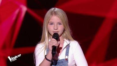 The Voice Kids – Aude chante « Ne partez pas sans moi » de Céline Dion