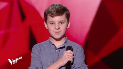 The Voice Kids – Baptiste chante « Riche » de Claudio Capéo