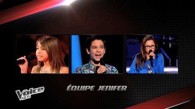 The Voice Kids - Carla, Melina, Paul : Avec eux, Jenifer veut (enfin) gagner