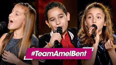 "Elodie - Ismael - Maëlyss - ""I'll be there"" - Jackson 5 (Equipe Amel Bent)"