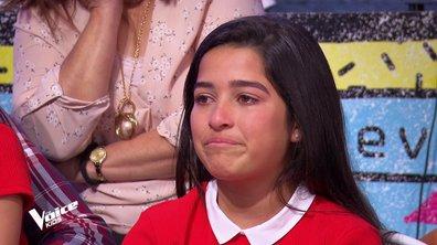#Emotion : Hizia fond en larmes après le touchant message de Lou