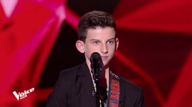 The Voice Kids – Enzo chante « Hoochie Coochie Man » de Muddy Waters