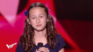 The Voice Kids – Eva chante « La foule » d'Edith Piaf
