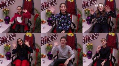 Exclu : Les premiers mots des finalistes de The Voice Kids