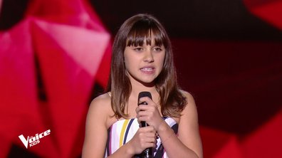 The Voice Kids - Fanchon chante « Girl on fire » d'Alicia Keys