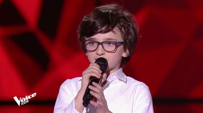 The Voice Kids - Gaspard chante « Gottingen » de Barbara