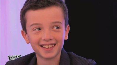 """Inédit ! Lisandru, 11 ans """"Je viens à The Voice Kids pour gagner"""""""