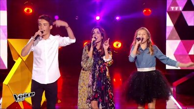 Jenifer – Lou – Achille - « Bubble star » (Laurent Voulzy) pour la finale