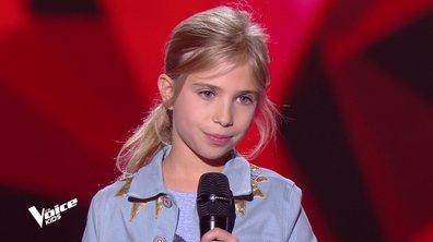 The Voice Kids - Julia chante « Don't rain on my parade » de Barbra Streisand