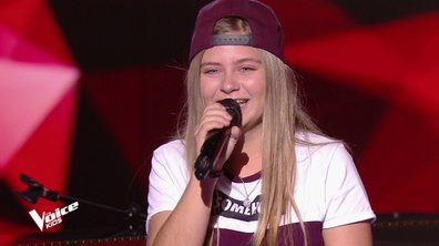 The Voice Kids - Justine chante « Born this way » de Lady Gaga
