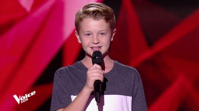 The Voice Kids - Kylian chante « Dommage » de BigFlo & Oli