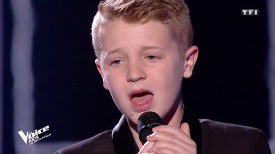 The Voice Kids : Kylian transporte les coachs avec « Voler de nuit » de Calogero
