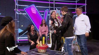 Lenni-Kim vient faire une surprise à Mathilde : « C'est MAGIQUE ! »