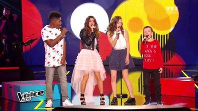 Lisandro, Justine et Lisandru reprennent Le tube « Shake it off » avec Jenifer