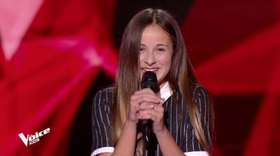 The Voice Kids - Lola chante « Out here on my own » d'Irene Cara