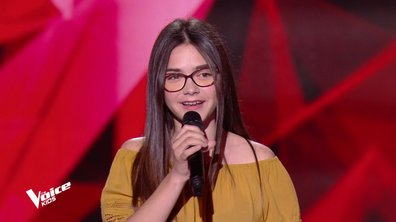 The Voice Kids - Marie chante « Si t'étais là » de Louane
