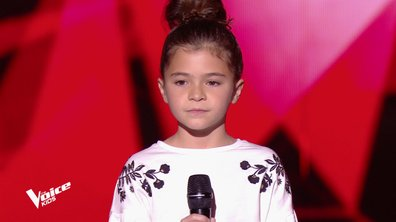 The Voice Kids - Matilda chante « Mercy » de Madame Monsieur