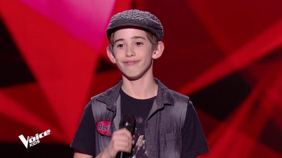 The Voice Kids - Michel chante « T.N.T » d'AC/DC