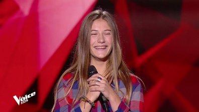 The Voice Kids - Mila chante « Ex's & Ox's » d'Elle King