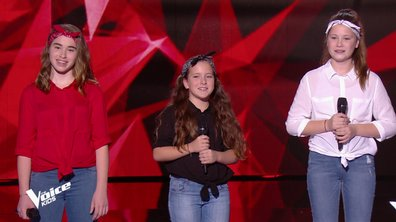 The Voice Kids – Les Mini Div chantent « It's raining men » des Weather Girls