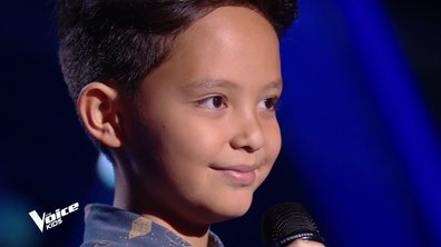 The Voice Kids - Nathiei chante « L'amour existe encore » de Céline Dion