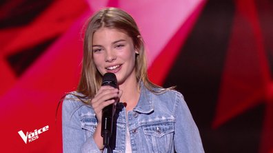 The Voice Kids - Nouha chante « Tu n'es plus là » d'Amel Bent