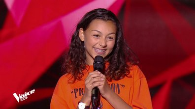 The Voice Kids - Océane chante « Natural Woman » d'Aretha Franklin